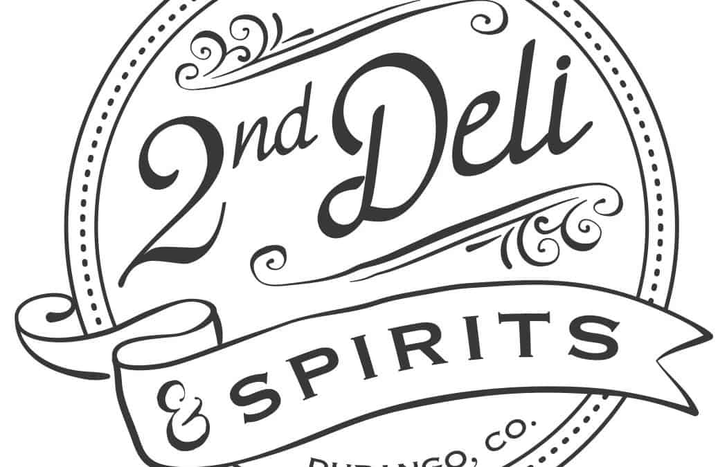 2nd Deli & Spirits Logo